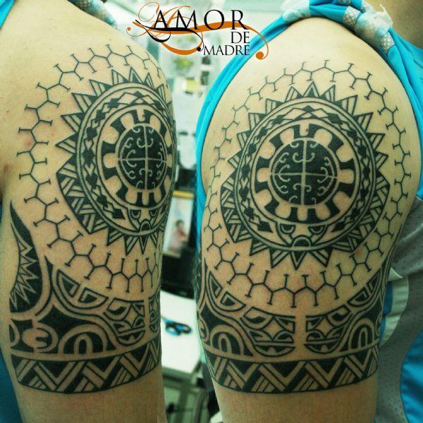Amor De Madre Portada - Tatuajes-de-hombro-y-brazo