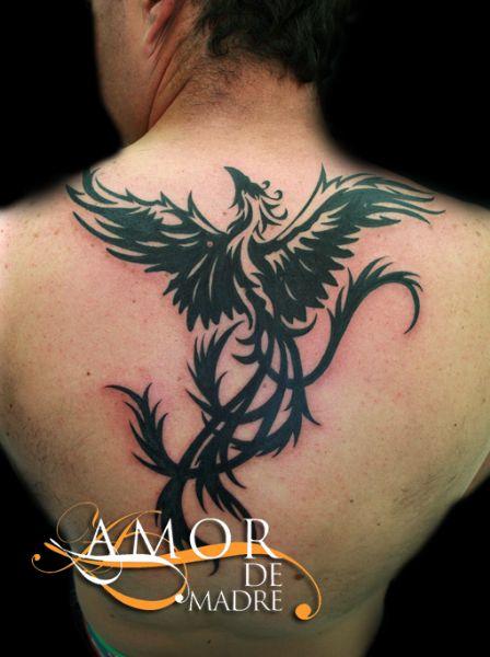 Amor de madre portada for Fenix tribal tattoo