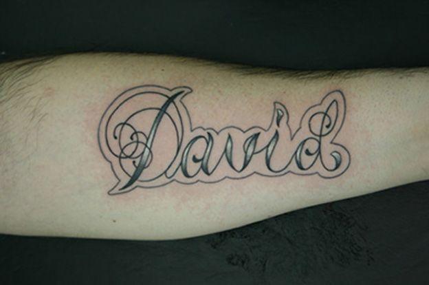 David letras goticas - Imagui