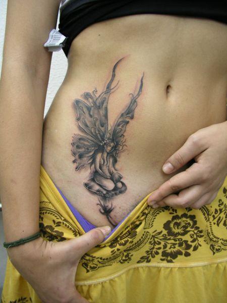 imagen de tatuajes de hada: