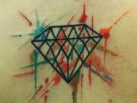 tattoo-tatuaje-amor-de-madre-zamora-diamante-diamond-colortattoo-color-estilo-acuarela