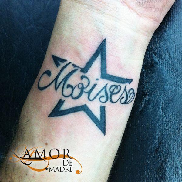 Amor De Madre Portada - Tatuajes-de-estrellas-con-nombres